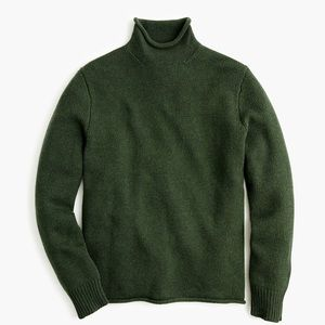J.Crew men's roll neck sweater turtleneck
